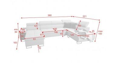 corner-sofa-beds - Morena VI - 2