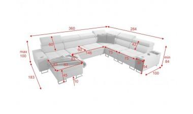 corner-sofa-beds - Morena VIII - 2