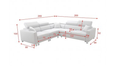 corner-sofa-beds - LORETTO IV - 2