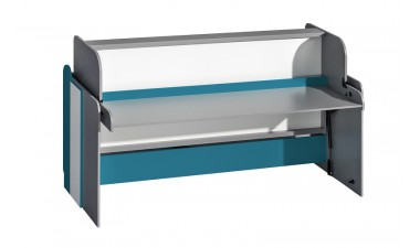 kids-and-teens-beds - Futura F14 Convertible Bed-Desk - 1