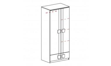 szafy-dzieciece-i-mlodziezowe - Kama G1 - 2