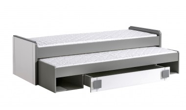 kids-and-teens-beds - Kama  G16 Guess Bed with Stoarge - 1