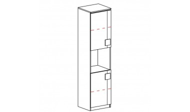 kids-and-teens-wardrobes - Kama G18 Cabinet - 2