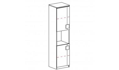 szafy-dzieciece-i-mlodziezowe - Kama G18 Witryna - 2