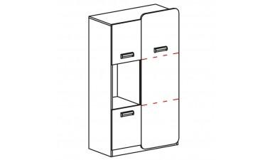 szafy-dzieciece-i-mlodziezowe - Hugo L5 Regal - 2