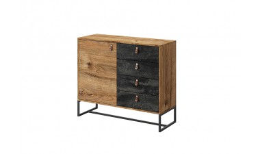 chest-of-drawers - Dark DK103 Chest Of Drawers - 1