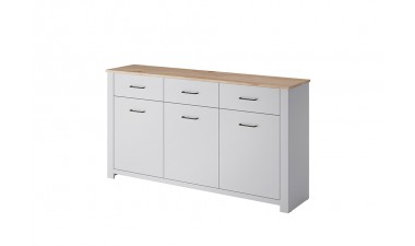 solid-furniture - Gray GKSZ165 Chest Of Drawers - 1