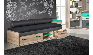 kids-and-teens-beds - Oliver U7 Bed with Storages - 2