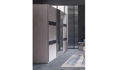 solid-furniture - Baden D SZ250 Wardrobe With Mirror - 2
