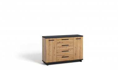 solid-furniture - Ina IN K2D4SZ Chest of drawers - 1