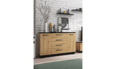 solid-furniture - Ina IN K2D4SZ Chest of drawers - 2