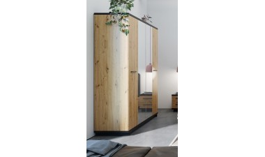 furniture-shop - Ina IN SZ4D Wardrobe With Mirror - 2