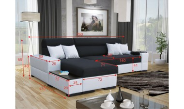 corner-sofa-beds - Orfeusz mix mini - 5