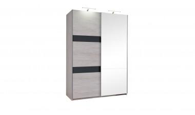 solid-furniture - Baden 150 Wardrobe With Mirror - 3