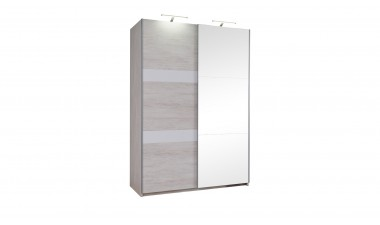 solid-furniture - Baden 150 Wardrobe With Mirror - 4