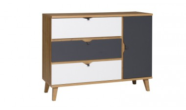 chest-of-drawers - Memo M K1D3SZ Chest of Drawers - 1