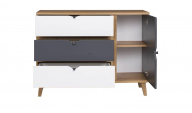 chest-of-drawers - Memo M K1D3SZ Chest of Drawers - 2