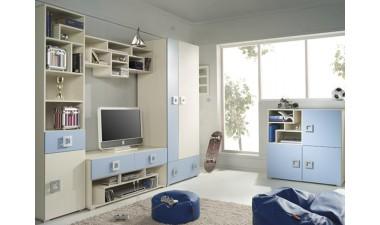 kids-and-teens-wall-units - Bambi V - 1