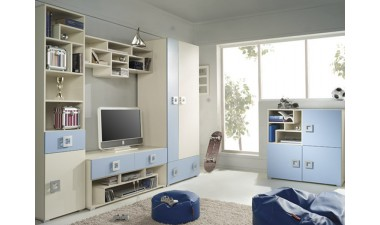 kids-wall-units - Bambi V