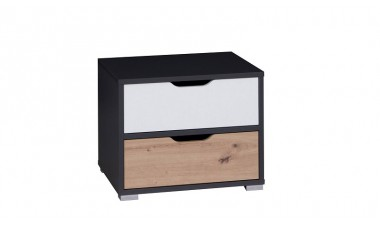 solid-furniture - Iwo IW SNOC Bedside table - 1